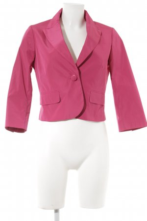 esprit collection Kurz-Blazer magenta Casual-Look