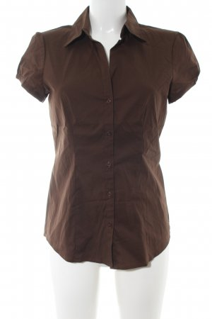 esprit collection Shirt met korte mouwen brons casual uitstraling