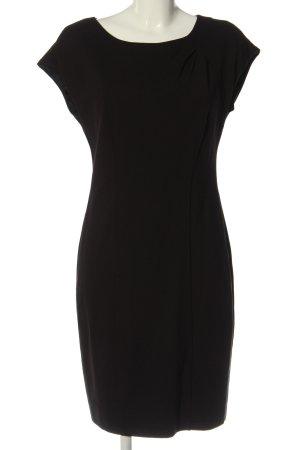 esprit collection Robe à manches courtes noir style décontracté
