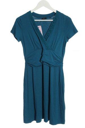 esprit collection Kurzarmkleid blau Casual-Look