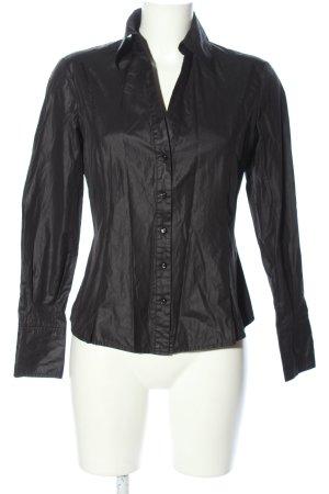 esprit collection Langarm-Bluse schwarz Business-Look