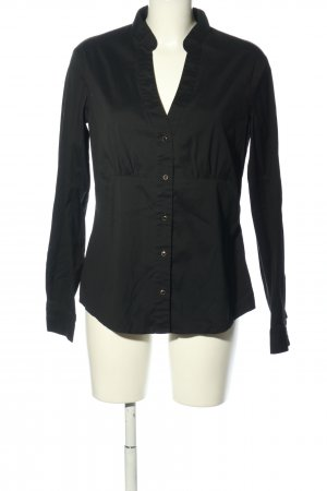 esprit collection Langarm-Bluse schwarz Business-Look