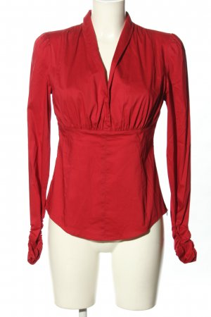esprit collection Langarm-Bluse rot Casual-Look