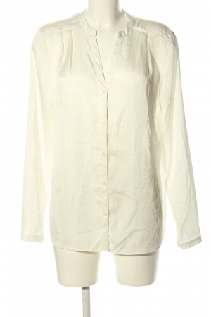esprit collection Langarm-Bluse weiß Business-Look