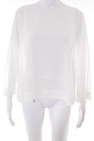 esprit collection Langarm-Bluse weiß Elegant