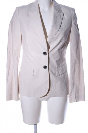 esprit collection Long-Blazer wollweiß Business-Look