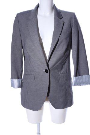 Esprit collection Long-Blazer hellgrau meliert Business-Look