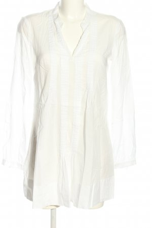 esprit collection Long-Bluse weiß Business-Look
