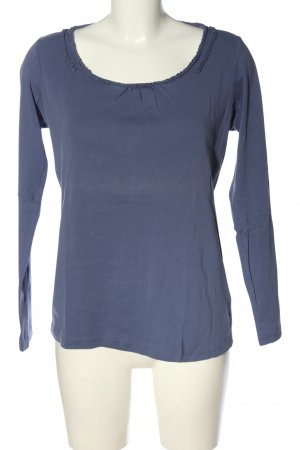 esprit collection Longsleeve blau schlichter Stil