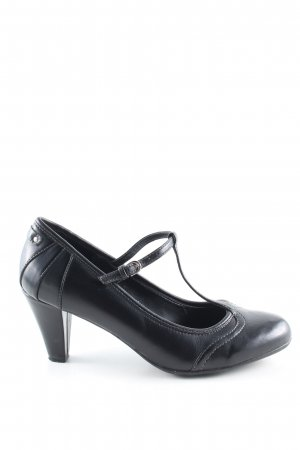 esprit collection Mary Jane Pumps schwarz Business-Look