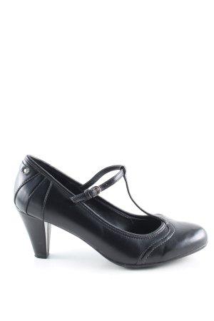 esprit collection Escarpins Mary Jane noir style d'affaires