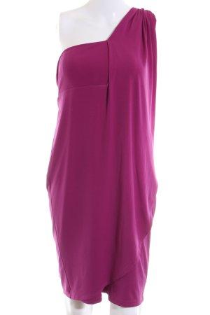 esprit collection Abito monospalla rosa elegante
