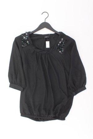 Esprit Collection Oversize-Bluse Größe 34 3/4 Ärmel mit Pailletten schwarz