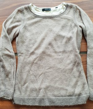 Esprit Collection Pullover, Nude/Taupe, Feinstrick, Gr. S