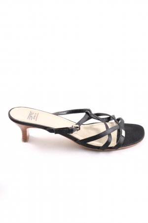 esprit collection Riemchen-Sandaletten schwarz Casual-Look