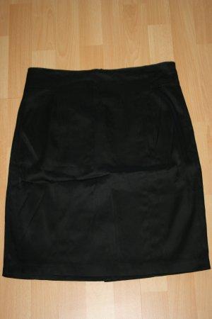 Esprit Collection Rock Satin schwarz Gr. 40