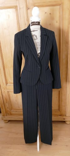 esprit collection Business Suit dark blue polyester