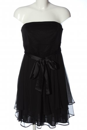 esprit collection schulterfreies Kleid schwarz Elegant