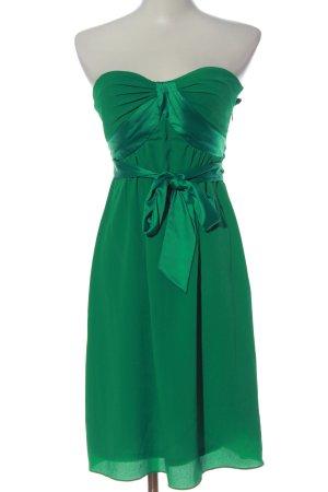 esprit collection schulterfreies Kleid grün Elegant