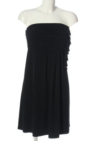 esprit collection schulterfreies Kleid schwarz Elegant