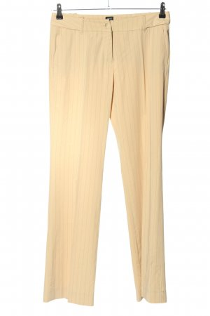 esprit collection Stoffhose creme Streifenmuster Business-Look