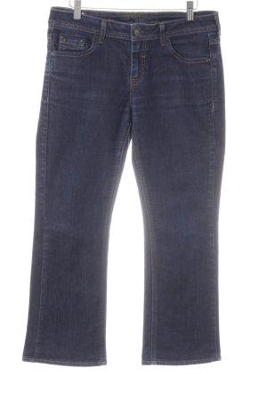 esprit collection Straight-Leg Jeans dunkelblau Jeans-Optik