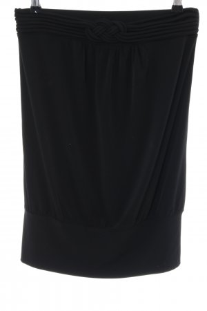 esprit collection Stretchrock schwarz Casual-Look