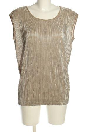 esprit collection ärmellose Bluse bronzefarben Casual-Look