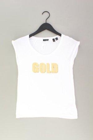 Esprit Collection T-Shirt Größe XS Kurzarm weiß aus Viskose