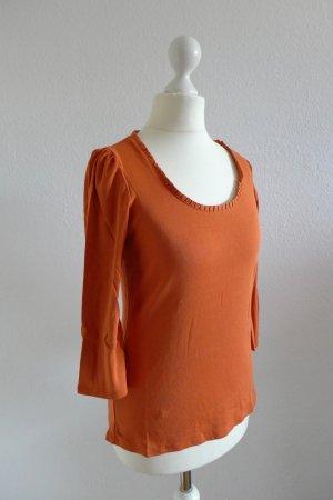 Esprit Collection Top Shirt Oberteil burnt orange Gr. 38 (L)