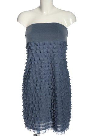 esprit collection Vestido estilo flounce azul look casual