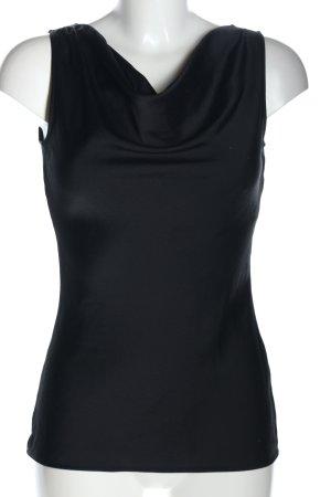 esprit collection Top tipo cascada negro look casual
