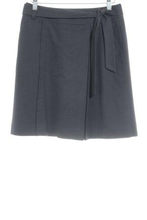 esprit collection Wraparound Skirt black flecked business style