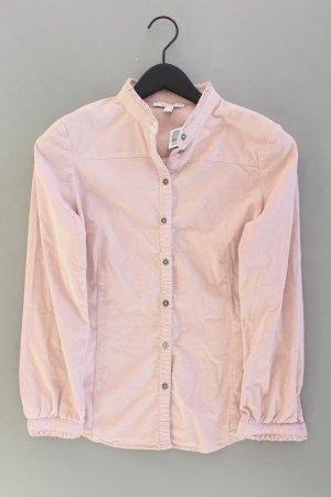Esprit Cordbluse Größe 36 Langarm rosa aus Baumwolle