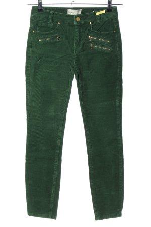 Esprit Cordhose grün Casual-Look