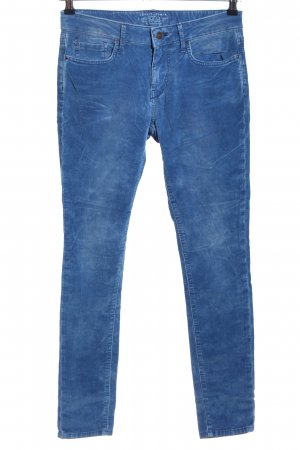 Esprit Cordhose blau Casual-Look