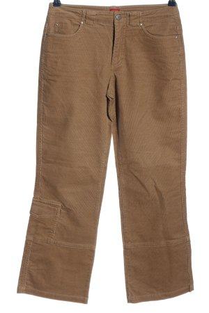 Esprit Pantalón de pana marrón look casual
