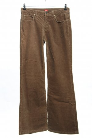 Esprit Corduroy Trousers brown casual look