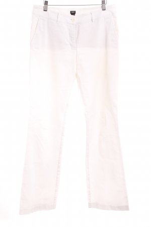 Esprit Corduroy Trousers pale yellow casual look