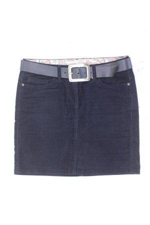 Esprit Cordrock Größe M blau aus Baumwolle