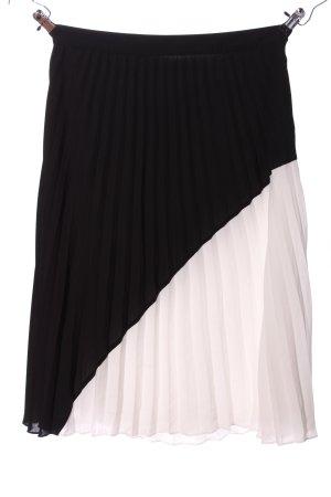 Esprit Falda estilo Crash negro-blanco look casual