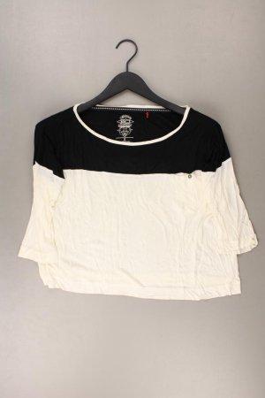 Esprit Cropped Shirt Größe S 3/4 Ärmel creme