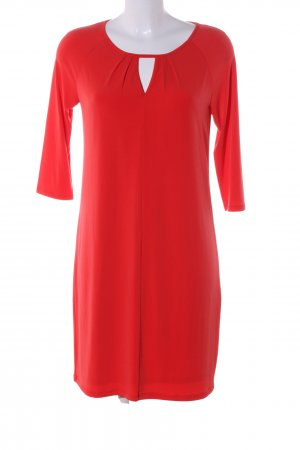 Esprit Vestido cut out rojo look casual