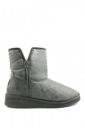 Esprit Cut-Out-Stiefeletten hellgrau Casual-Look