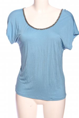 Esprit Cut-Out-Top blau Casual-Look