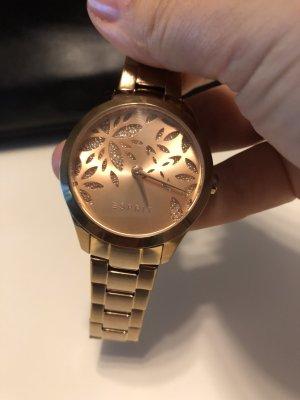 Esprit Reloj con pulsera metálica color oro metal