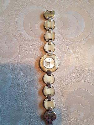 Esprit Montre avec bracelet métallique beige clair
