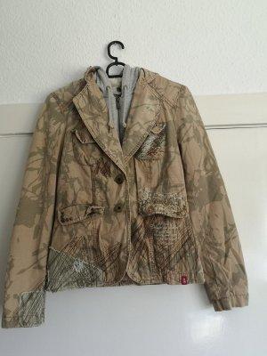 Esprit Damen Jacke mit abnehmbarer Kapuze