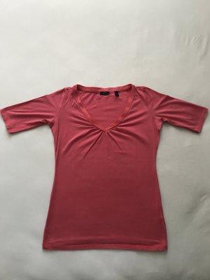 ESPRIT Damen Kurzarmshirt, hellrot / neonrot, Gr. S
