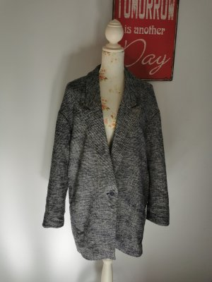 Esprit Damen Mantel Jacket Tweed Optik gemustert Größe 42